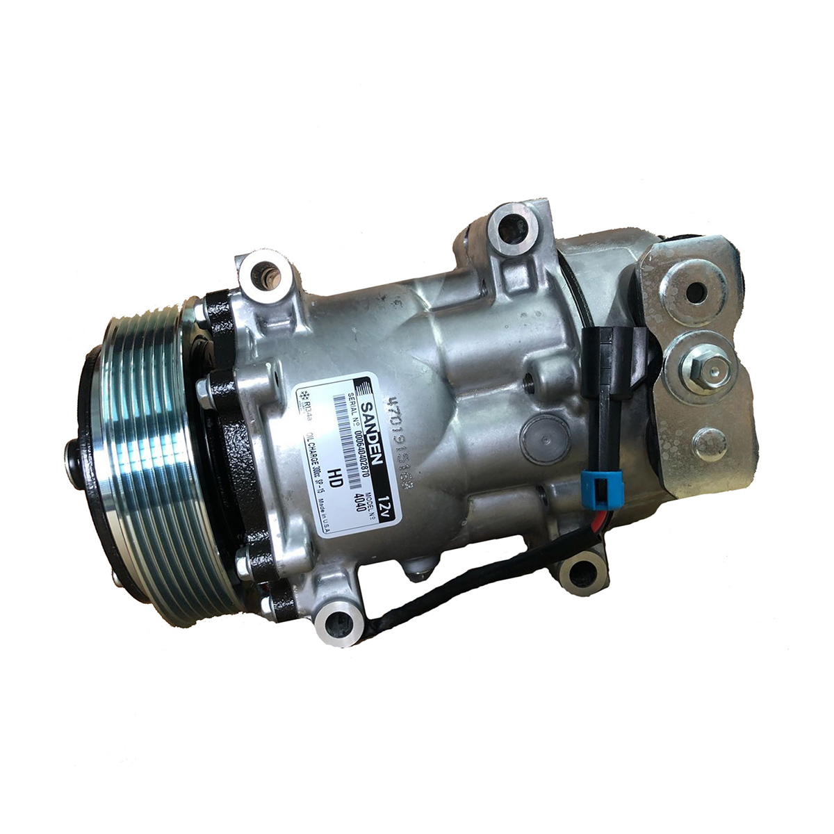 ORIGINAL SANDEN A/C Compressor With Clutch, 4040