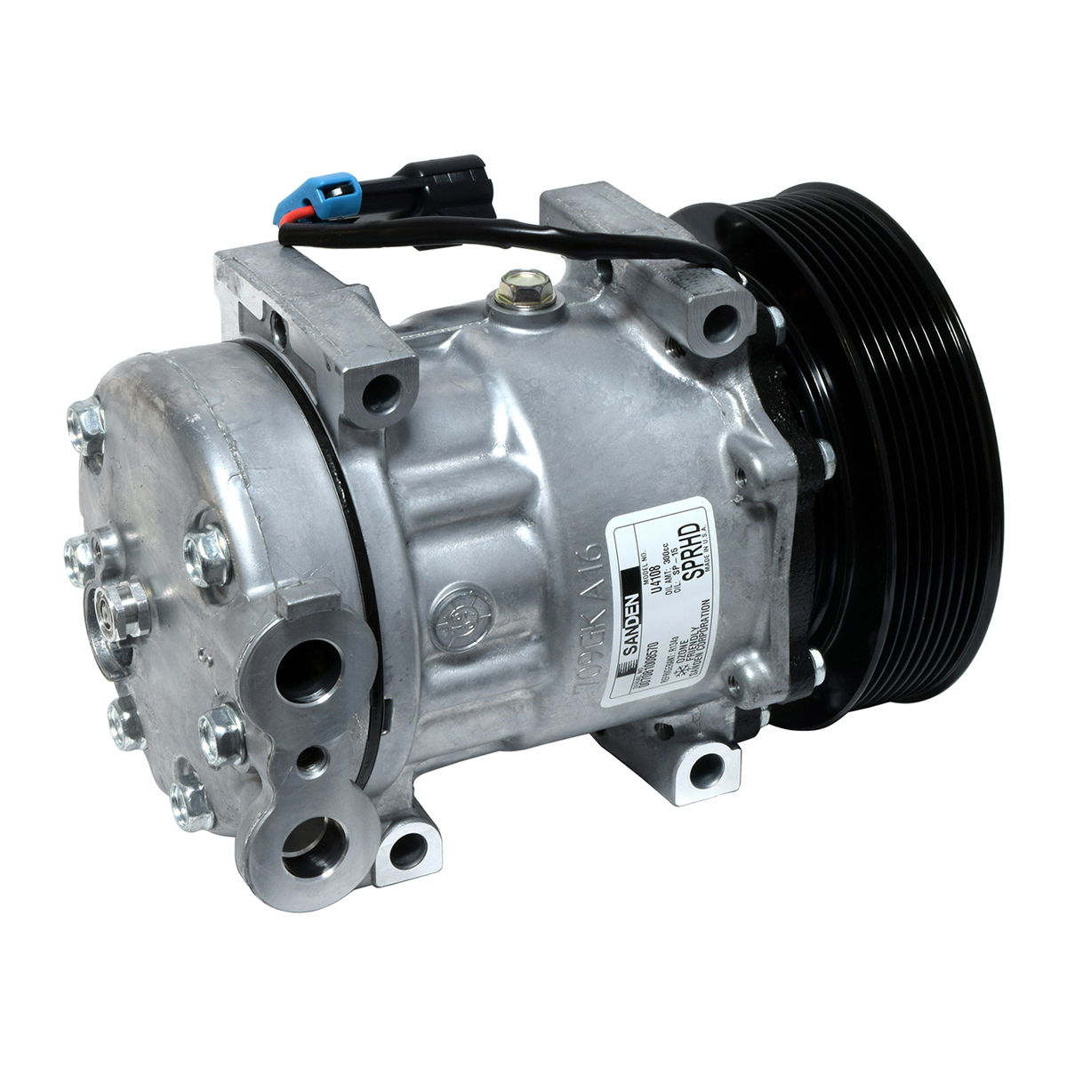 ORIGINAL SANDEN A/C Compressor CO 4108